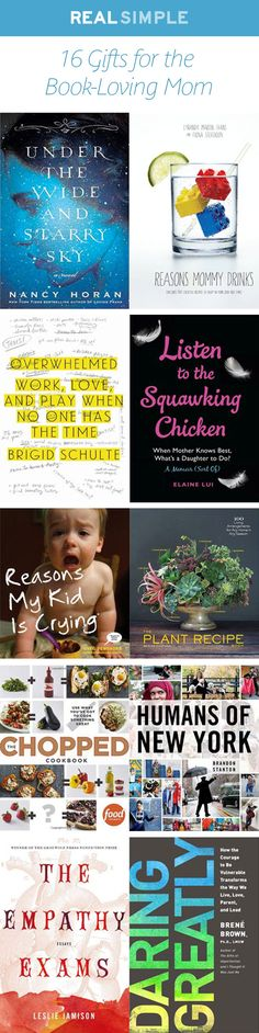 If your mom is a big reader, consider gifting her one of these books for Mother's Day.