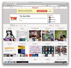 """3/16/12 TNW: """"Pinterest has rolled out its first significant makeover since gaining popular attention in a move that sees it streamline the look of profile pages on the service. Elements previously on the side of the page to the top to give photos and content greater prominence."""""""