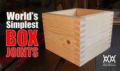 How make a box joint jig in minutes and get on with your project!