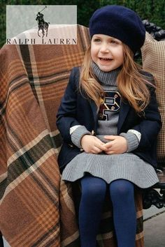 Preppy! Back to school Polo Girls Dress. Ralph Lauren grey trutleneck wool dress. Borrowed from the women's collection. Looks perfect with a navy beret hat and wool blazer jacket. Shop polo kids collection @ childrensalon (affiliate). #polo #ralphlauren #girlsdress #childrensalon #dashinfashion #backtoschool Girls Special Occasion Dresses, Girls Dresses, Wool Dress, Knit Dress, Beret, Hat, Girls Designer Clothes, Polo Ralph Lauren Kids, Grey Turtleneck
