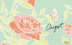 august desktop + iphone calendars by bonnie christine (3)