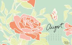 august desktop + iphone calendars by bonnie christine (3)
