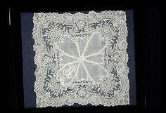 Beautiful Vintage Lace Handkerchief