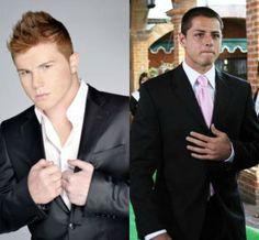 Canelo Alvarez and Chicharito Hernandez <3