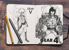 Gear 4, Gear 5... Awesome fan art