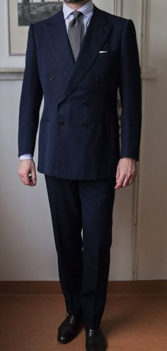 Cifonelli suit...great style.