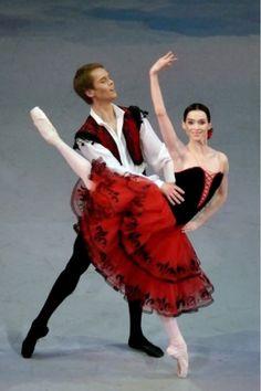 Olesya Novikova and Leonid Sarafanov in Don Quixote