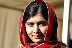 Malala Yousafzai, Nobel Peace Prize winner at 17 with the Indian children's campaigner Kailash Satyarthi Malala Yousafzai, Muslims In America, Muslim Pictures, Gender Inequality, Nobel Peace Prize, Famous Celebrities, Muslim Women, Change The World, Role Models