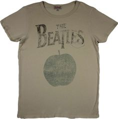 Women's Beatles Apple Records Shirt by Junk Food Beatles Shirt, The Beatles, Junk Food Tees, Apple Records, Ladder Stitch, Rock Tees, Junk Food Clothing, Vintage Inspired, Tee Shirts