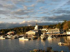 Boothbay Harbor, Maine Always wanted to visit Maine.