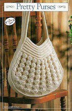 You'll find free crochet bag patterns, crochet purse patterns and even a free tote bag pattern or two. You'll never want to buy a purse or bag ever again. Crochet Purse Patterns, Crochet Tote, Crochet Handbags, Crochet Purses, Love Crochet, Crochet Crafts, Knit Crochet, Crochet Woman, Bag Patterns