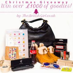 The British Girl: Win over £1000 Of Goodies - Christmas Giveaway