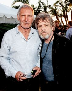 Harrison Ford and Mark Hamill 2015 ;-)~❤~