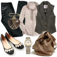"""""""Wearing your Heart on your Lapel"""" by kitten on Polyvore"""