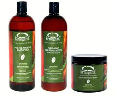KERATIN TREATMENT SET - ORGANIC - FORMALDEHYDE FREE - 160z by KERARGANIC. $189.00. FORMALDEHYDE FREE KERATIN TREATMENT. ARGAN OIL ENRICHED - 16OZ. STRAIGTHENS AND REMOVES VOLUME AND FRIZZ. RESULTS LAST 3 TO 4 MONTHS. NO FUMES, NO HARSH ODORS.. SAFE FOR PREGNANT AND BREASTFEEDING WOMEN. KERARGANIC - THE NEW GENERATION IN HAIR THERAPY! SET COMPOSED OF PRE-TREATMENT SHAMPOO (STEP 1) ORGANIC KERATIN SYSTEM, FORMALDEHYDE FREE (STEP 2), AND POST TREATMENT MASK (STEP...