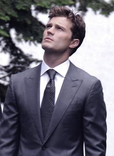 Jamie Dornan on set of Fifty Shades of Grey in Vancouver - 13 Oct 2014 Fifty Shades Darker Book, Fifty Shades Trilogy, Fifty Shades Of Grey, Jamie Dornan, Cristian Grey, Dakota Johnson Movies, Mr Grey, American Actors, Hot Guys