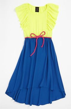 W Girl Colorblock Dress (Little Girls & Big Girls) | Nordstrom