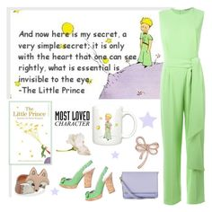 """""""Most Loved Character - The Little Prince"""" by molly2222 ❤ liked on Polyvore featuring Ermanno Scervino, Isaac Mizrahi, Tribeca, Bloomingdale's and MostLovedCharacter"""