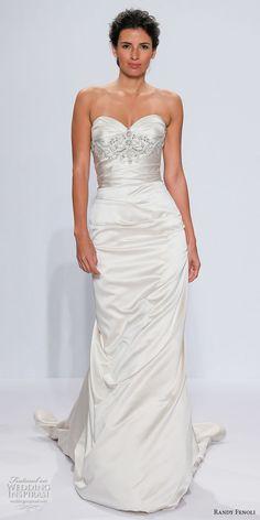 27e3c456eb9b Randy Fenoli Bridal Spring 2018 Wedding Dresses — New York Bridal Fashion  Week Runway Show
