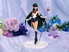 Official Sailor Moon Girls Memories Sailor Pluto Figure http://www.moonkitty.net/buy-sailor-moon-girls-memories-models.php