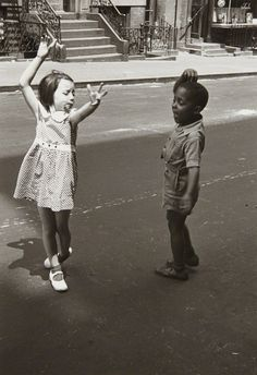 Helen Levitt, New York (two children dancing), ca. 1940, Phillips: Photographs Day Sale