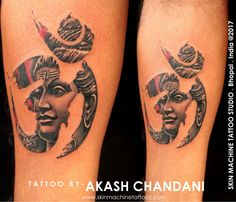 Rage of Lord Shiva! Coming again with new Custom Lord Shiva series tattoo by Akash Chandani  Done this design with my freehand skills, Comments appreciated ☺️ Email for appointments - skinmachineteam@gmail.com www.skinmachinetattooz.com