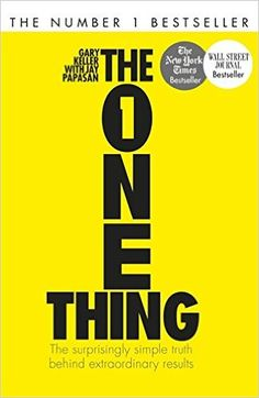 The One Thing: Amazon.de: Gary Keller: Fremdsprachige Bücher