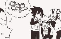 Browse sasuke uchiha Sakura Haruno Naruto Uzumaki collected by Marcella Savers and make your own Anime album. Naruto Akatsuki Funny, Sasuke Uchiha Sakura Haruno, Funny Naruto Memes, Naruto Sasuke Sakura, Naruto Cute, Naruto Shippuden Sasuke, Shikamaru, Kakashi, Sasunaru