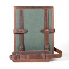 Re-purposed ww2 canvas ipad case