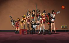 Awesome Team Fortress 2 Wall | Team Fortress 2 Wallpapers