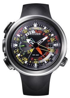 bfa4365c8 Citizen Promaster Eco-Drive Altichron Cirrus model. So far this will be the  most