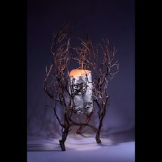 Functional lighted sculpture