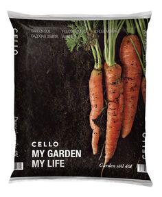 Cello is a DIY category brand. Vibrant, colorful and fresh. Products that  keep our homes and gardens happy. We embrace diversity and freedom of  choice. Following the brand guidelines we created packaging for Cello  Garden Soil and Cello Soil for Summer Flowers. We wanted the artwork to be  inf