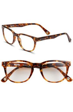 ac2a5a9f57e Michael Kors Round Clear Lens Glasses - instant appearance of intelligence!