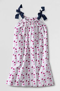 Toddler Girls' Ribbon A-line Woven Tank Dress from Lands' End @Lauren Livingston  for $35....just sayin!