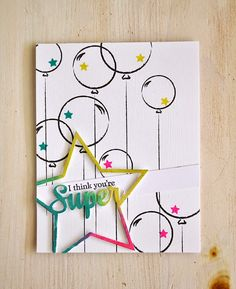 You're Super Card by Maile Belles for Papertrey Ink (May 2015)