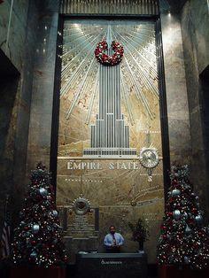 Lobby, Empire State Building, New York