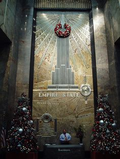 Empire State Building, Lobby