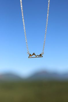The Mountains Are Calling Necklace – Wish You Were Northwest
