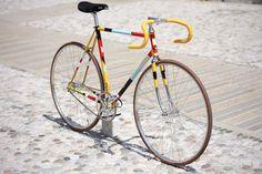 Bici a scatto fisso Biascagne Forgood 2012