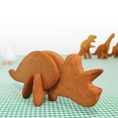 3D Cookie Cutters Triceratops, $11, now featured on Fab. - I think @Sarah Kundel needs these!
