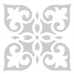 Estos stencils podrán transformar el aseo o el suelo de tu casa. También lo puedes aplicar sobre paredes utilizando el tamaño adecuado. Te aseguro que la decoración de tu hogar no pasara desapercibida a nadie!!!Medidas aproximada.Medida exterior del stencil: 12x12 y 25x25 cm