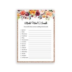 How Well Does the Bride Know the Groom Game - Memorable Bridal Shower Printable Bridal Shower Games, Bridal Shower Invitations, Drinking Board Games, Unique Bridal Shower, How Many Kids, Bachelorette Party Games, Bridal Shower Decorations, Shower Party, Shower Gifts