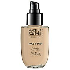 MAKE UP FOR EVER - Face & Body Liquid Makeup Alabaster Beige 32 *SEPHORA*