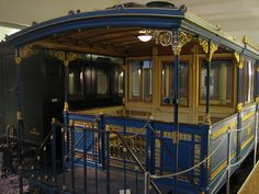 Saloon Coach of the Bavarian King Ludwig II
