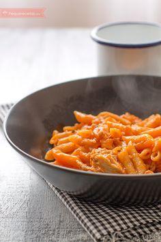 Macarrones con Thermomix, ¡deliciosos! sin cocer la pasta aparte