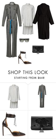 """""""Untitled #2366"""" by nava16 ❤ liked on Polyvore featuring Etro, Francesco Russo, Yves Saint Laurent, Nili Lotan and Victoria Beckham"""