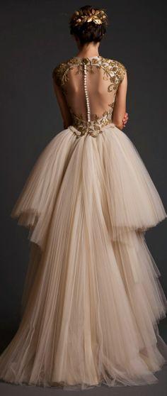Evening Dresses: Krikor Jabotian Akhtamar Collection Spring/Summer 2014