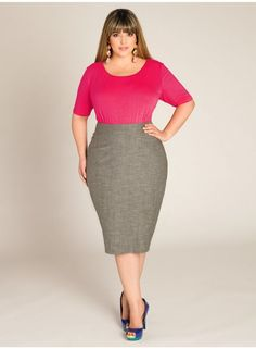 A guide for trendy plus size fashion. Plus size skirt, boho plus size fashion, plus size fashion for women, edgy fashion, plus size fashion for work, affordable plus size fashion, classy fashion style, fashion outfits, women's fashion style, fashion style tips