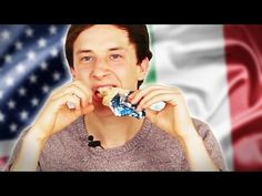 Italians Try American Sweets - YouTube
